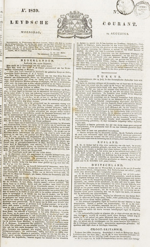 Leydse Courant 1839-08-14