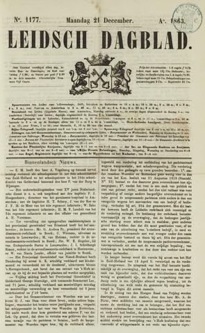 Leidsch Dagblad 1863-12-21