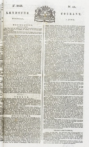 Leydse Courant 1843-06-07