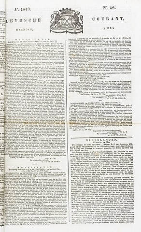 Leydse Courant 1843-05-15