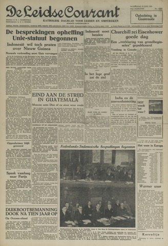 Leidse Courant 1954-06-30