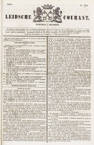 Leydse Courant 1869-12-01
