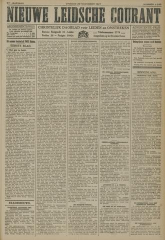 Nieuwe Leidsche Courant 1927-11-29