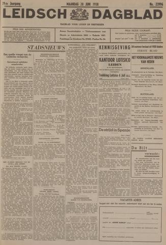 Leidsch Dagblad 1938-06-20