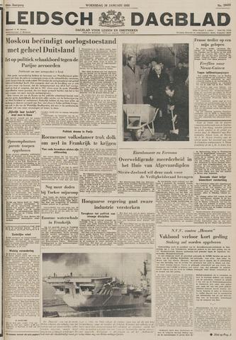 Leidsch Dagblad 1955-01-26