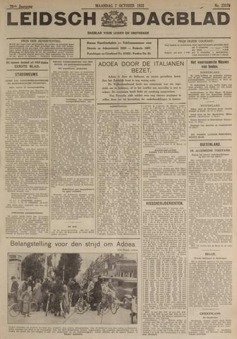Leidsch Dagblad 1935-10-07
