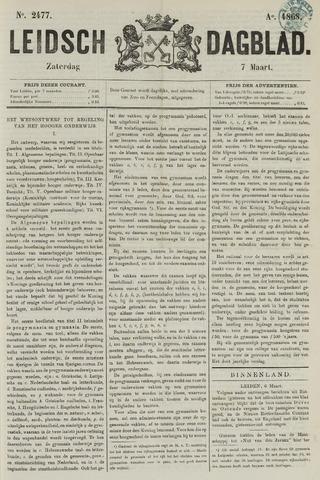 Leidsch Dagblad 1868-03-07