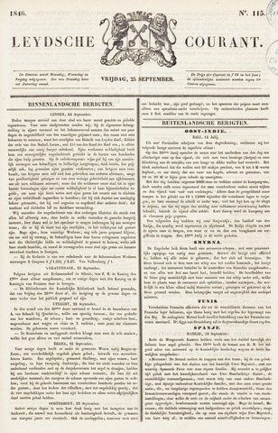 Leydse Courant 1846-09-25
