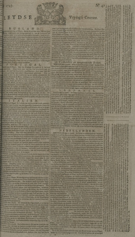 Leydse Courant 1743-04-19