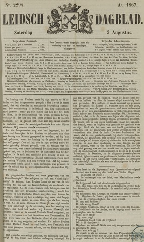 Leidsch Dagblad 1867-08-03