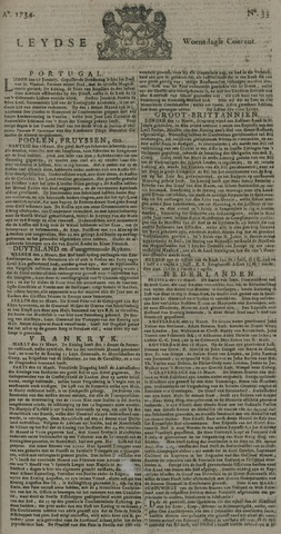 Leydse Courant 1734-03-17