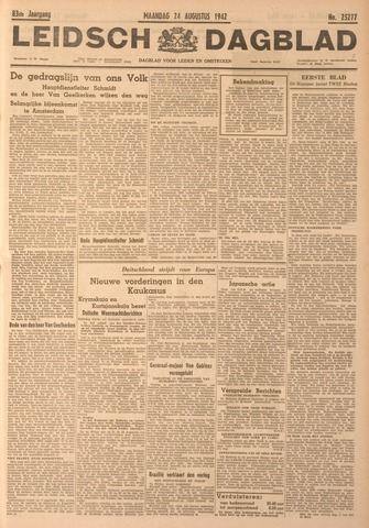Leidsch Dagblad 1942-08-24