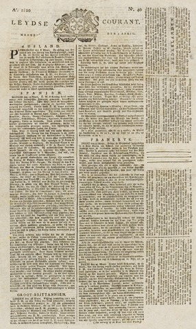 Leydse Courant 1820-04-03
