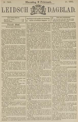 Leidsch Dagblad 1885-02-09