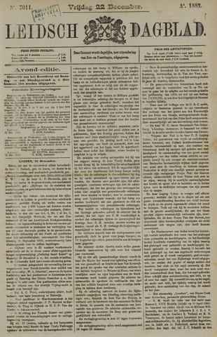 Leidsch Dagblad 1882-12-22