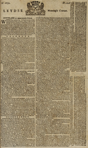 Leydse Courant 1751-09-27