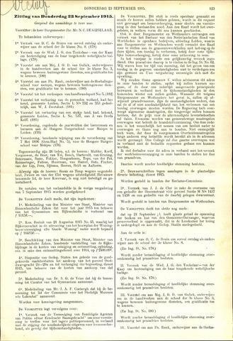 Handelingen van de Raad 1915-09-23