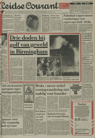 Leidse Courant 1985-09-10