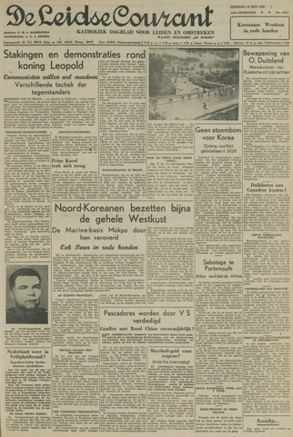 Leidse Courant 1950-07-25