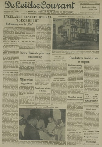 Leidse Courant 1961-08-02