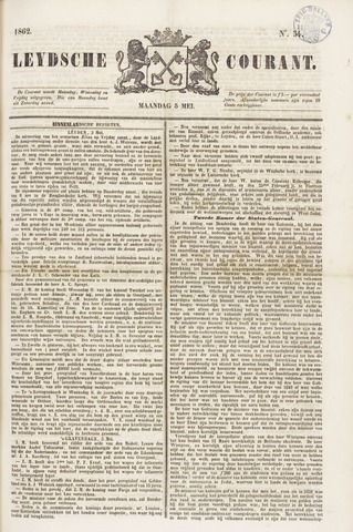 Leydse Courant 1862-05-05