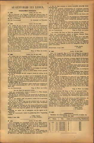 Handelingen van de Raad 1893-06-20