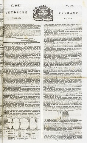 Leydse Courant 1843-07-21