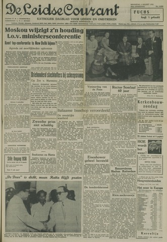 Leidse Courant 1958-03-03