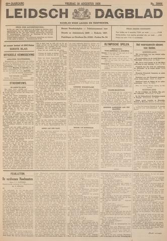 Leidsch Dagblad 1928-08-10