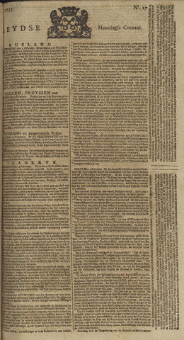 Leydse Courant 1755-03-03