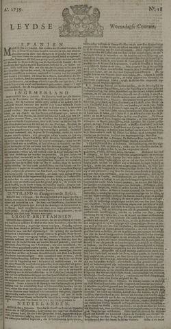 Leydse Courant 1739-02-11
