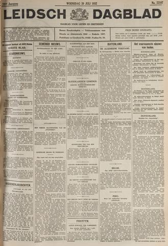 Leidsch Dagblad 1932-07-20