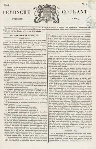 Leydse Courant 1844-07-03