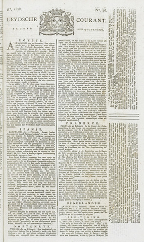 Leydse Courant 1828-02-29
