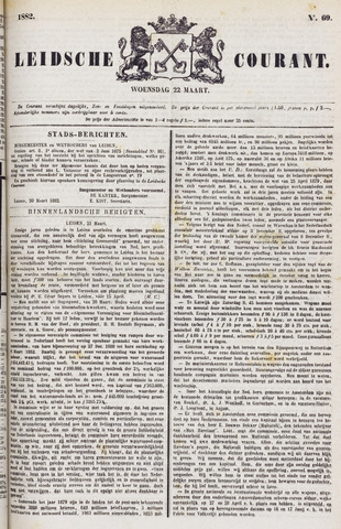 Leydse Courant 1882-03-22