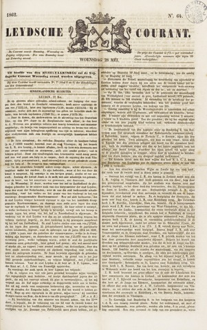 Leydse Courant 1862-05-28