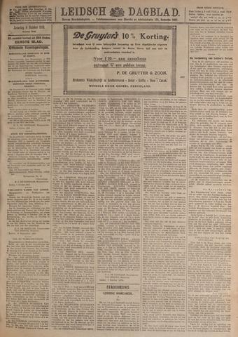 Leidsch Dagblad 1919-10-04