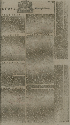 Leydse Courant 1743-11-11