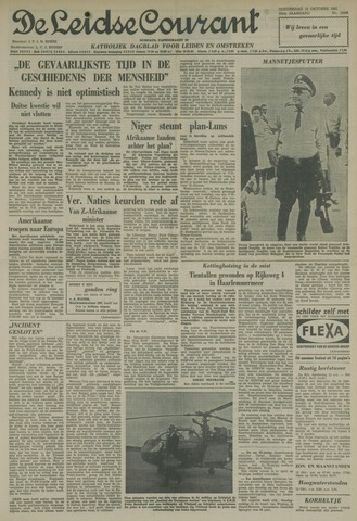 Leidse Courant 1961-10-12