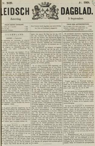 Leidsch Dagblad 1868-09-05