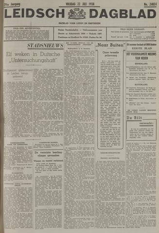 Leidsch Dagblad 1938-07-22