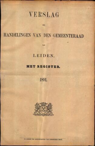Handelingen van de Raad 1891-01-01