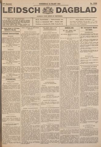 Leidsch Dagblad 1932-03-24