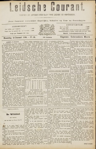 Leydse Courant 1890-01-13