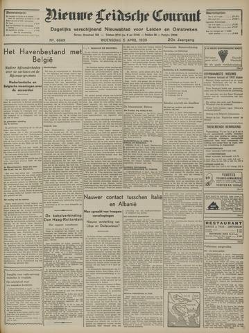 Nieuwe Leidsche Courant 1939-04-05