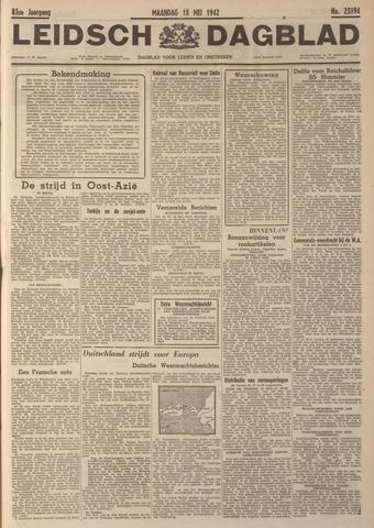 Leidsch Dagblad 1942-05-18
