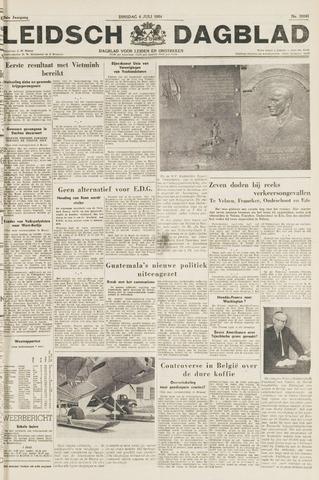 Leidsch Dagblad 1954-07-06
