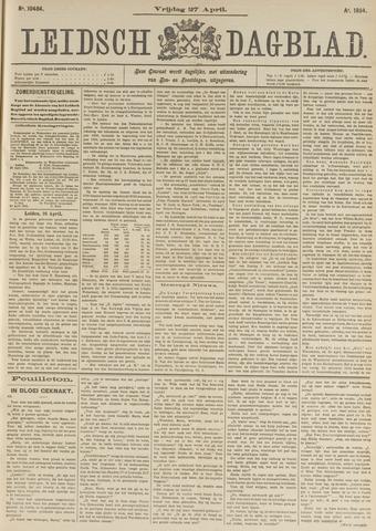 Leidsch Dagblad 1894-04-27