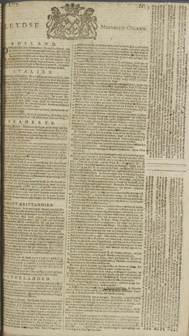Leydse Courant 1773-01-11