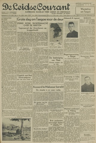 Leidse Courant 1950-08-14
